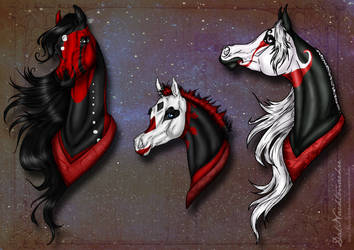 Red,Black and White by DatNachtmaehre