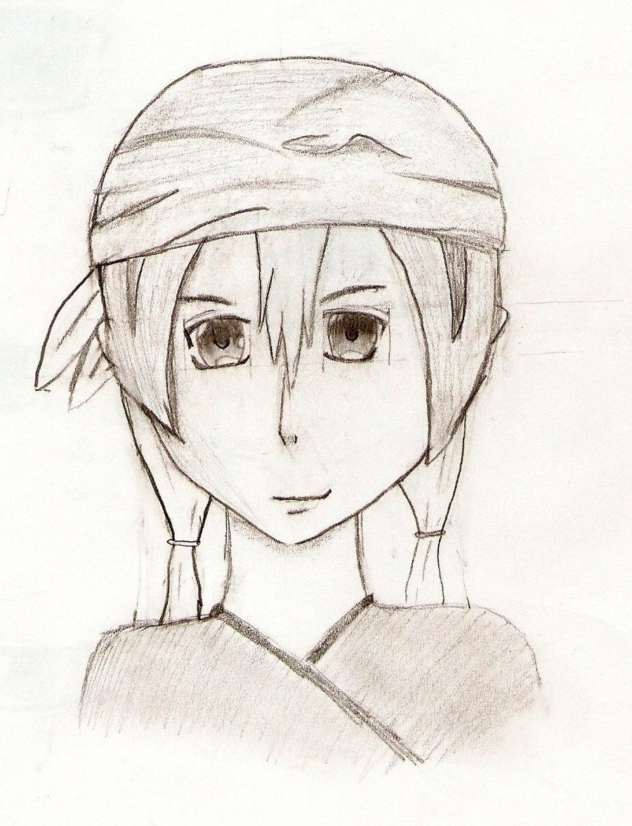 Female pirate drawing - photo#11