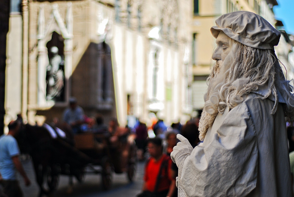 streets of florence by tolgagonulluleroglu