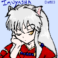 -Inuyasha oekaki- by daftplushie