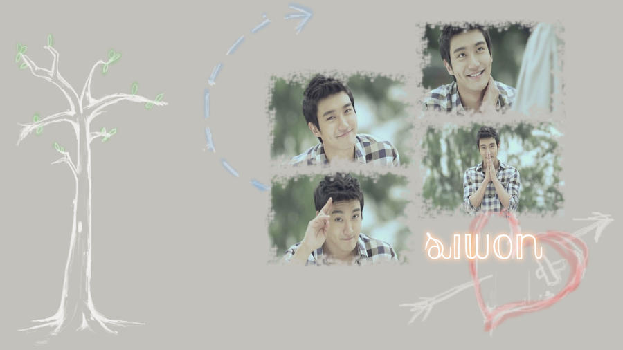Choi Siwon wallpaper by siwonielover94 on DeviantArt