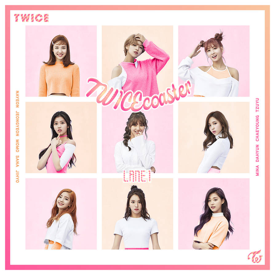 TWICE / TWICEcoaster : LANE 1 by TsukinoFleur on DeviantArt