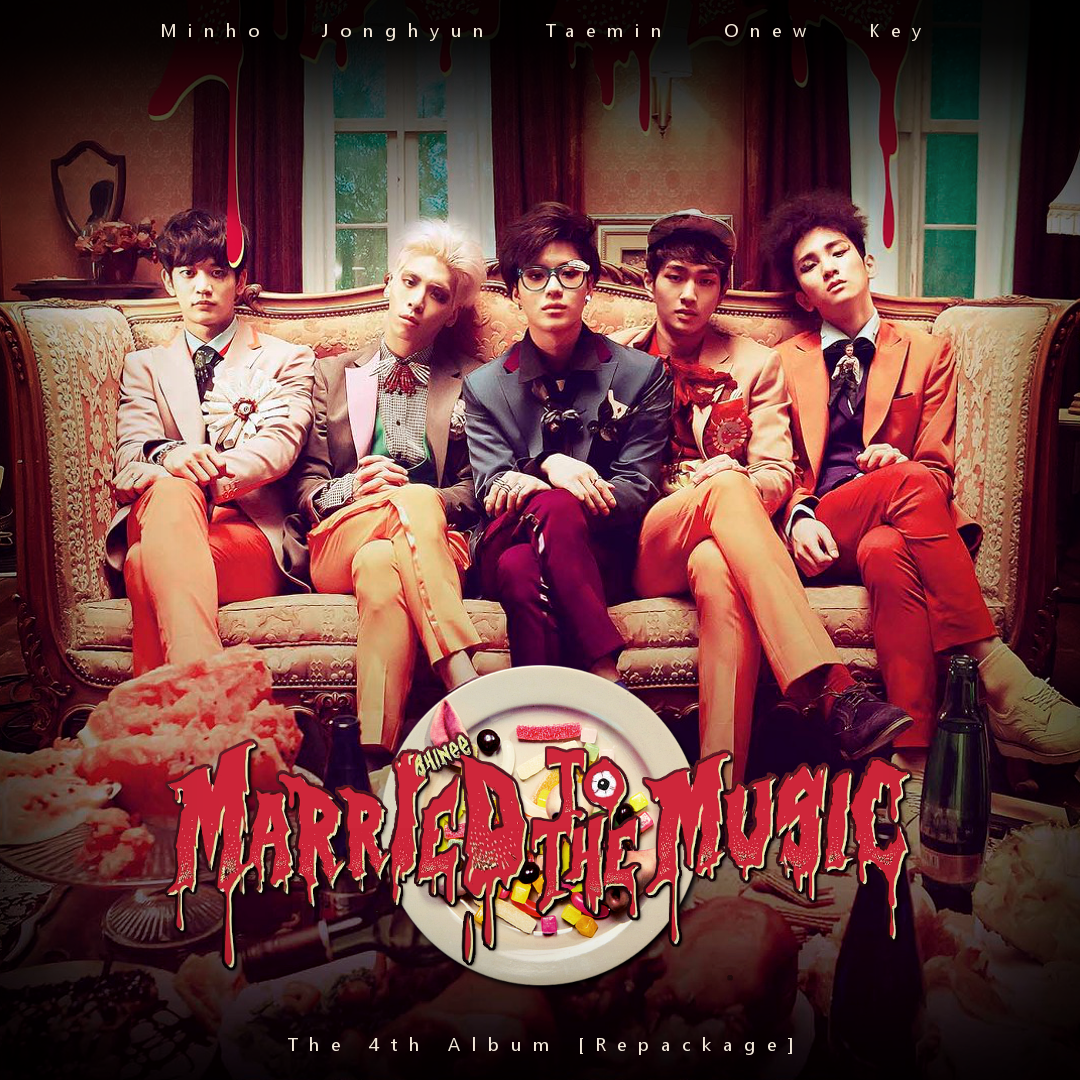 shinee    married to the music by tsukinofleur on deviantart