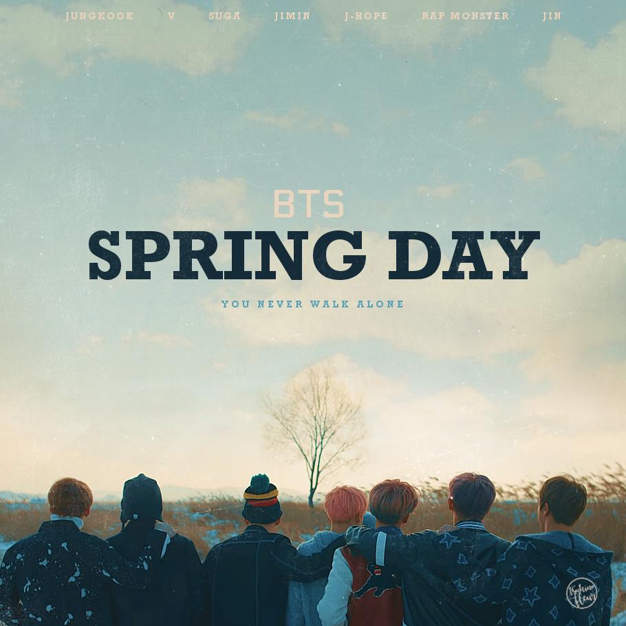 BTS / Spring Day by TsukinoFleur on DeviantArt