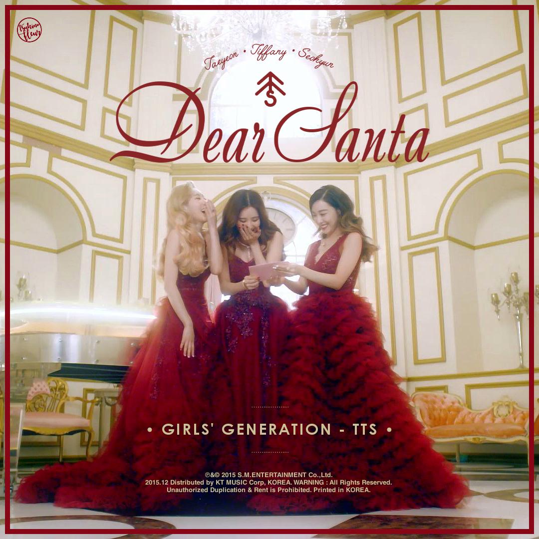Girls' Generation - TTS / Dear Santa by TsukinoFleur on ...