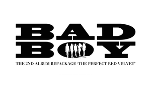 [Red Velvet] Bad Boy Logo - PNG
