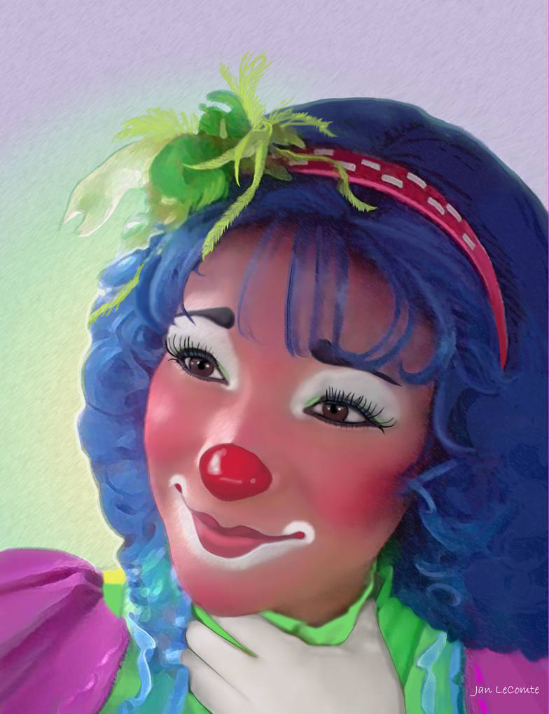 Alejandra Clown by jantheempress