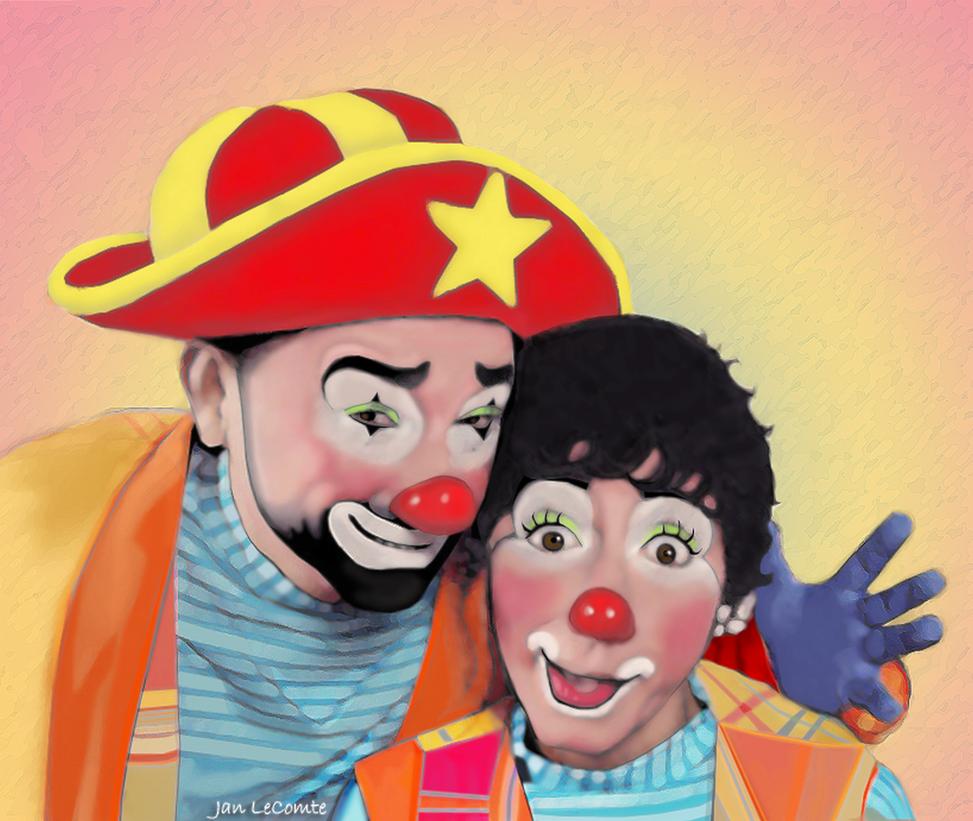 Clowns by jantheempress