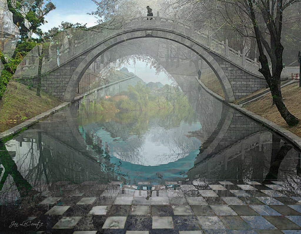 Surreal Bridge by jantheempress