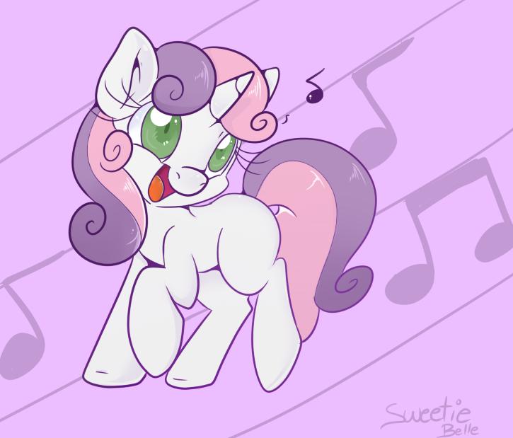 Sweetie Belle by Lustrous-Dreams