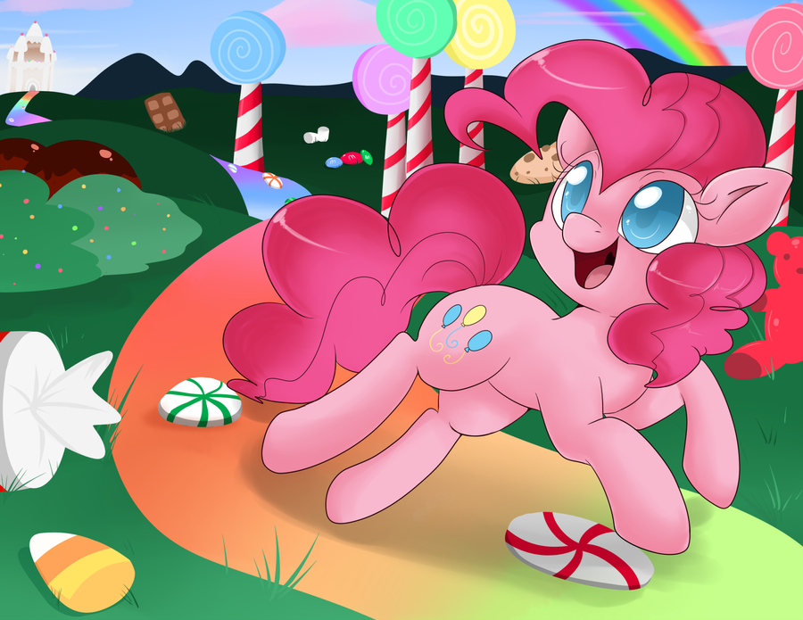 Pinkie Candy Land by Lustrous-Dreams