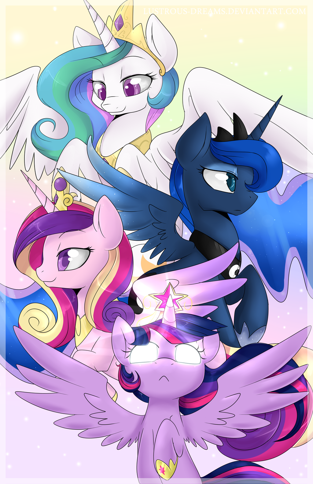 Alicorns by Lustrous-Dreams