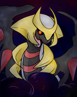 Giratina by Lustrous-Dreams