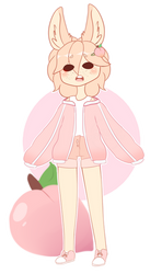 peach bean by Mintixio