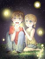 Fireflies by AmikaMangaka