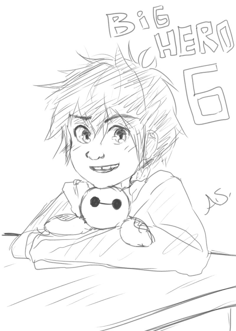 Big Hero 6 Sketch (Request) By AmikaMangaka On DeviantArt