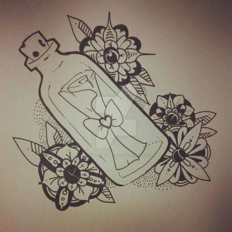 Message In A Bottle Flash By Natashathefabulous On DeviantArt