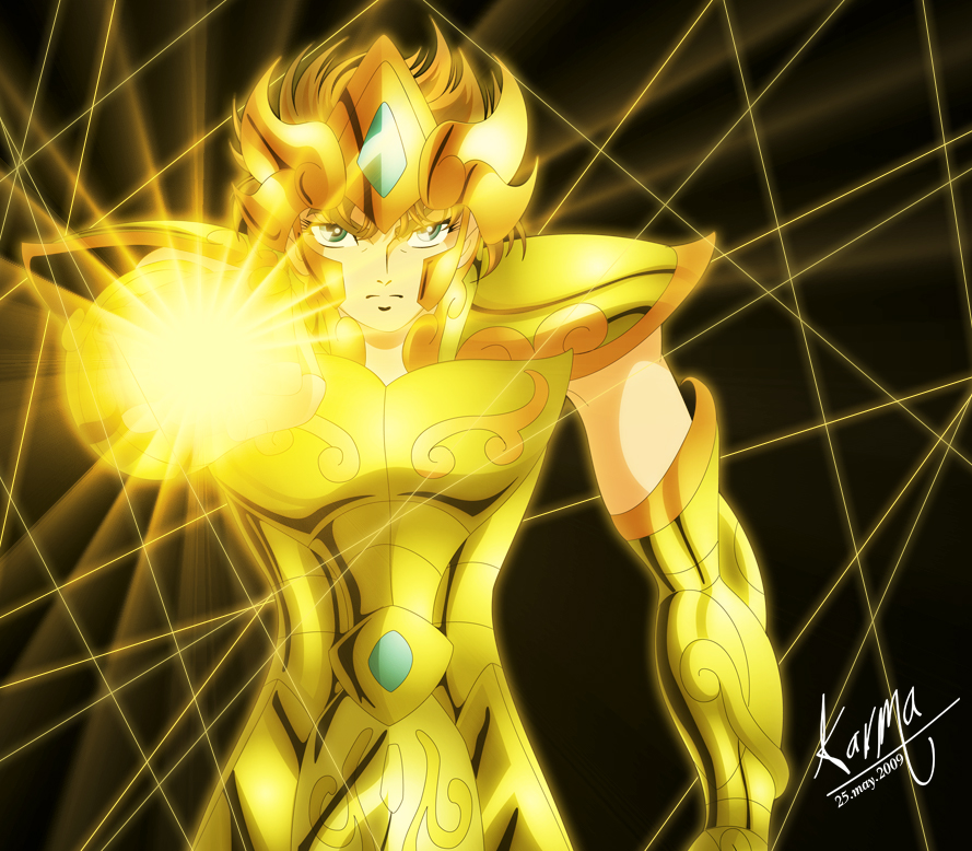 Aioria in V by MK-karma