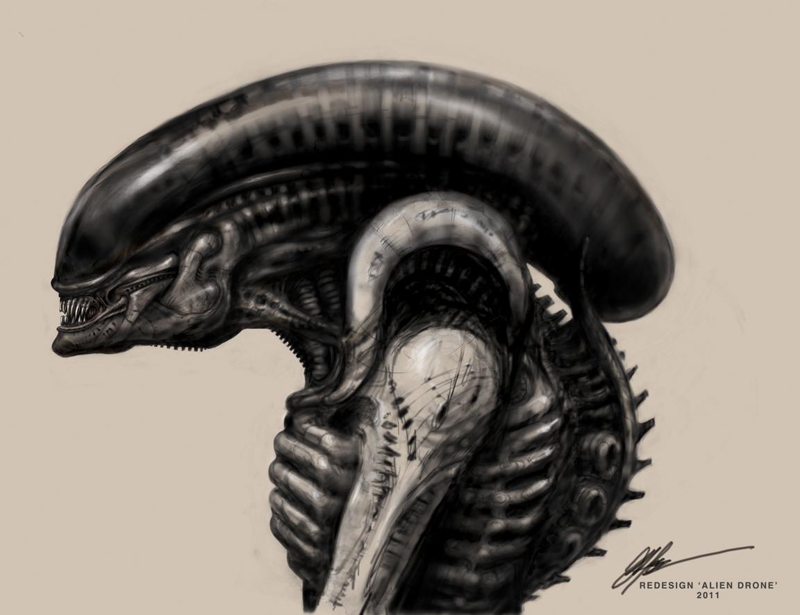 Original Concept Art For Alien Prometheus Aliens Concept Art