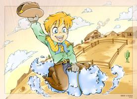 Sky Cowboy by krisagon