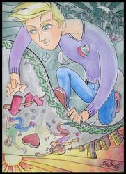 Nomades: Inconstancias Ilustradas- obra 4 by krisagon