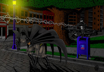 Knight of the Symbiote by 1-cwc-1