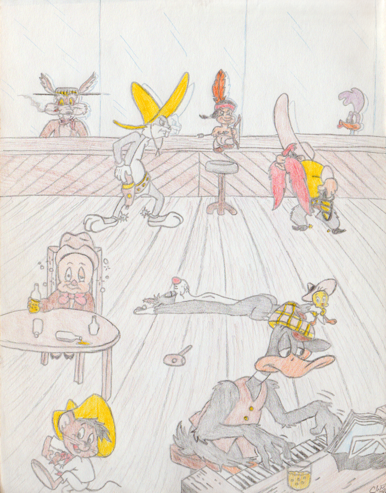 Looney Tunes Western by 1-cwc-1