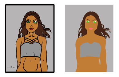 Girl (flats) by 1-cwc-1