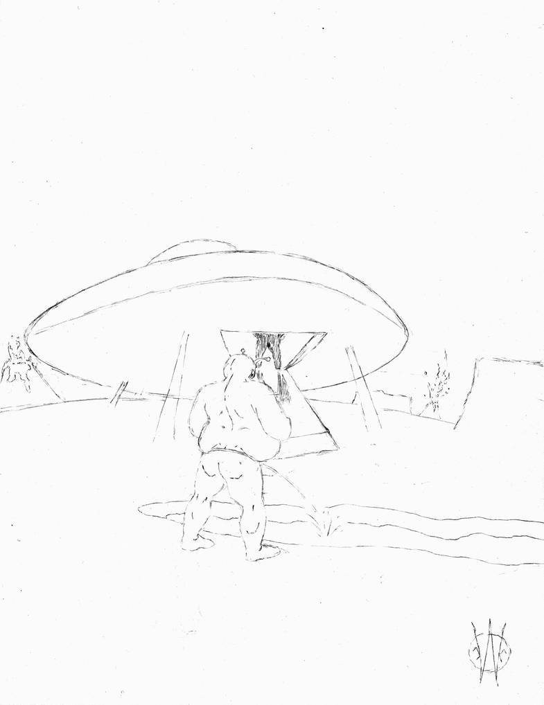 Panspermia (sketch) by 1-cwc-1