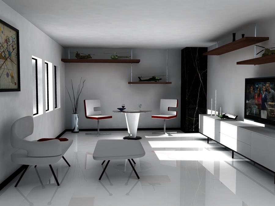 Depto Design by santiago-simple