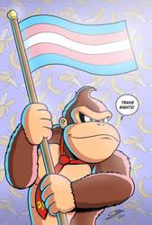 Donkey Kong Supports Trans Rights