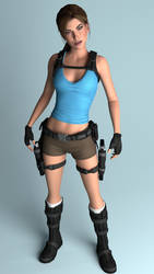 Lara Croft atToO by Memento3D
