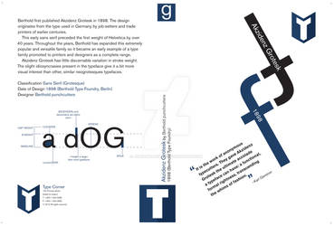 DVD cover, Akzidenz Grotesk