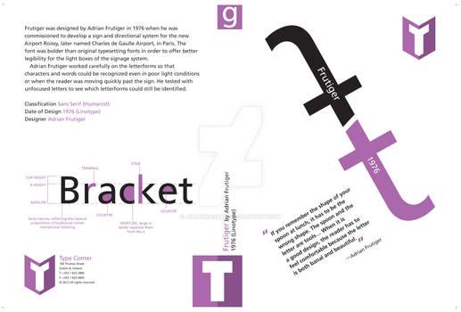 DVD cover, Frutiger