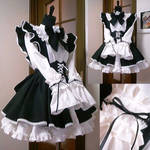 i cosplay cafe   maid outfit
