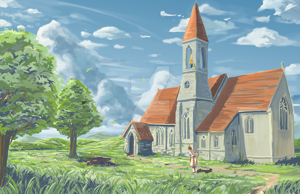 stroll to nedah church by kyocs