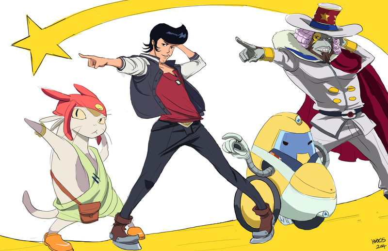 Space Dandy by kyocs