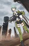 shinon from SAO