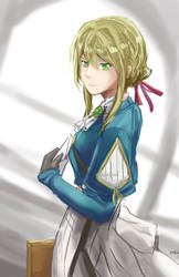 violet evergarden 2 by kyocs