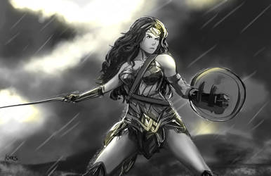 Wonder Woman by kyocs