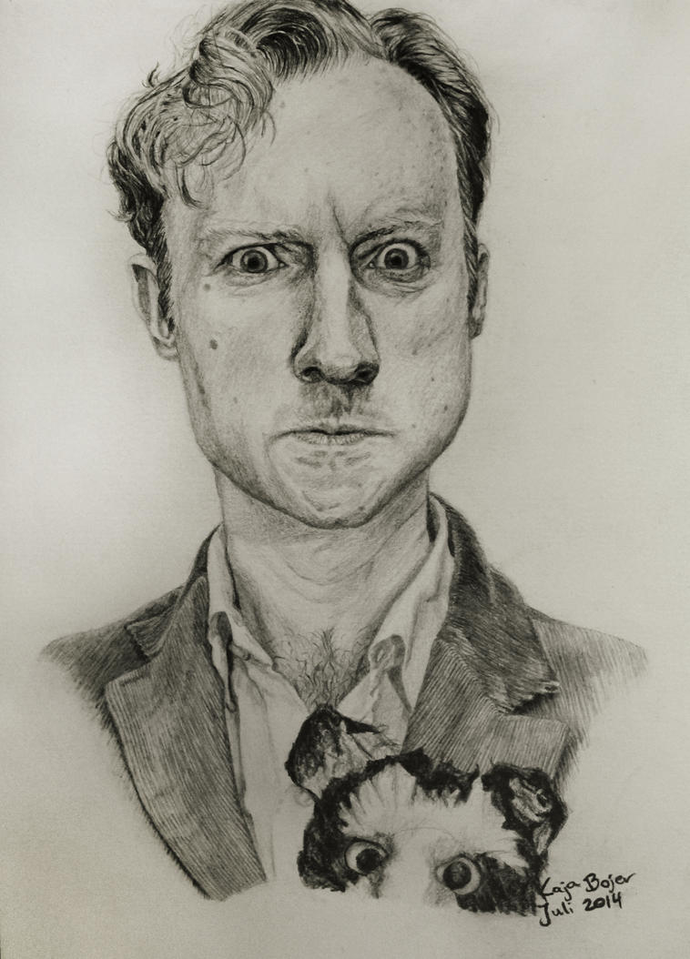 Mark Gatiss Drawing by Nippip