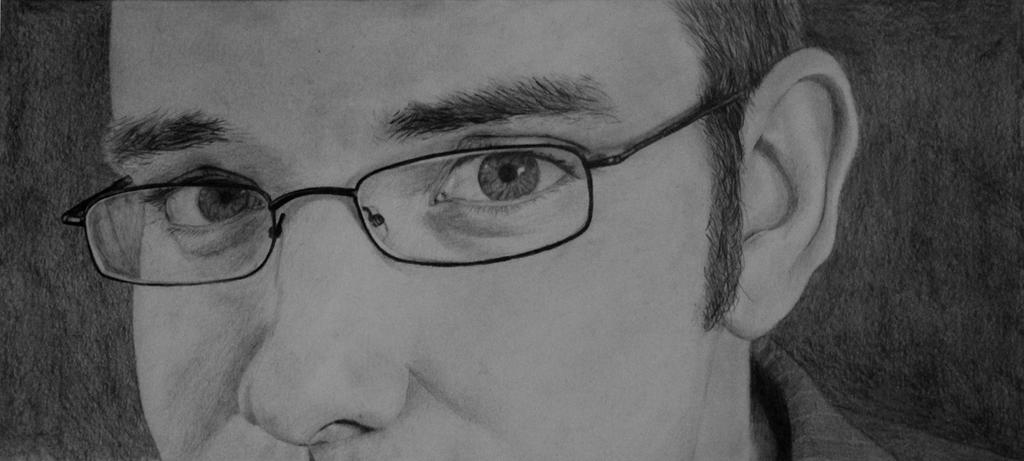 J Michael Tatum -Drawing by Nippip