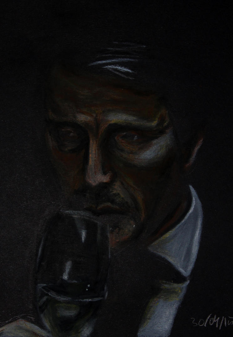 Hannibal -pastel by Nippip