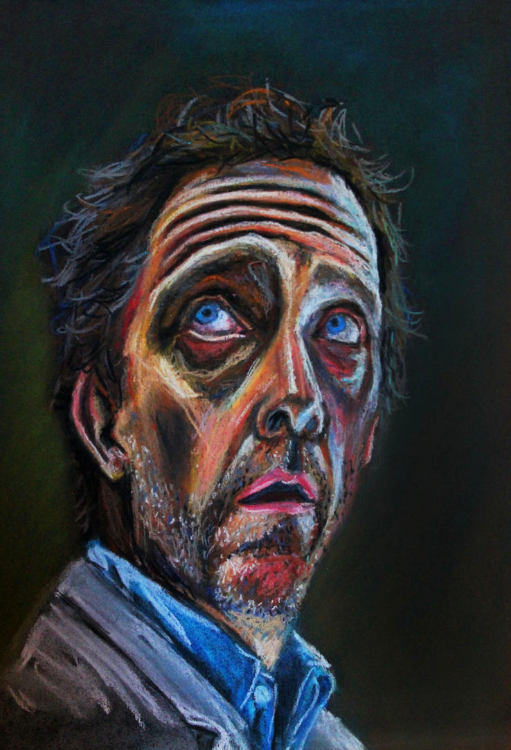 Gregory House -Pastel by Nippip