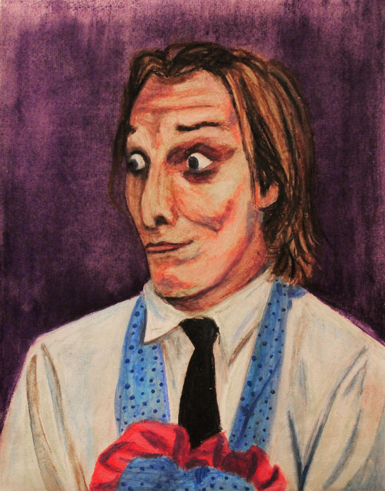 Richie Housewife -Oil Pastel by Nippip