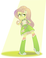 EqG Fluttershy:  Stagefright! by seahawk270