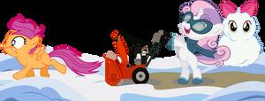 Cutie Mark Crusader:  Winter Wrapper-Uppers!!!