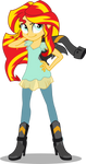 Sunset Shimmer - Friendship Games v. 2