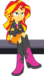Sunset Shimmer is not amused...
