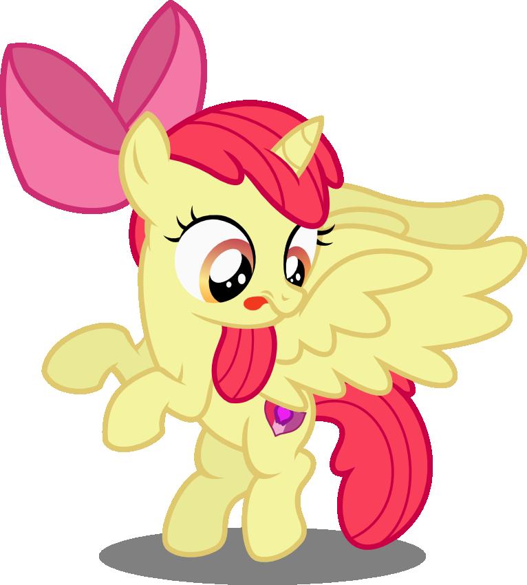 Alicorn Apple Bloom by seahawk270